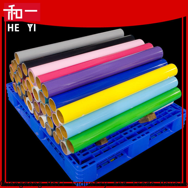 HEYI vinyl supplies company for bags