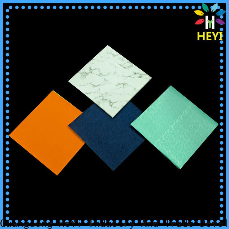 HEYI Top buy vinyl sheets supply for tiles