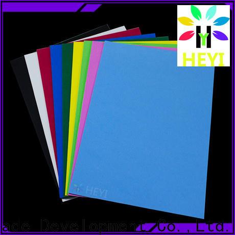 Custom made vinyl sheets for home decor