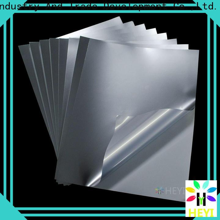 HEYI printable vinyl sticker paper for bags