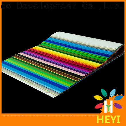 HEYI Latest self adhesive vinyl sheets supply for banners