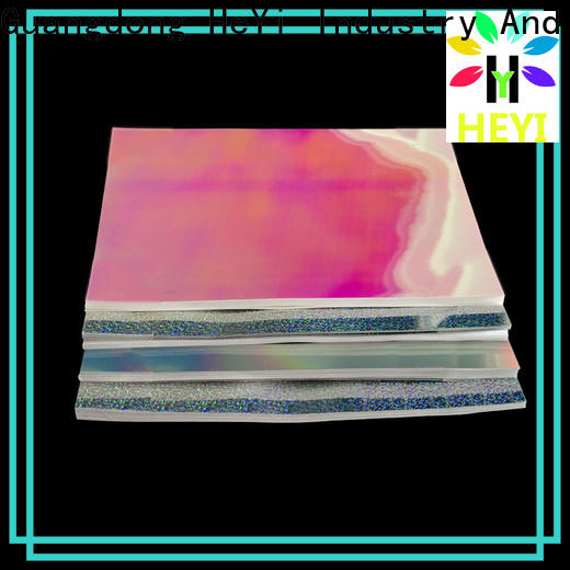 HEYI Custom made printable vinyl sticker paper for bags