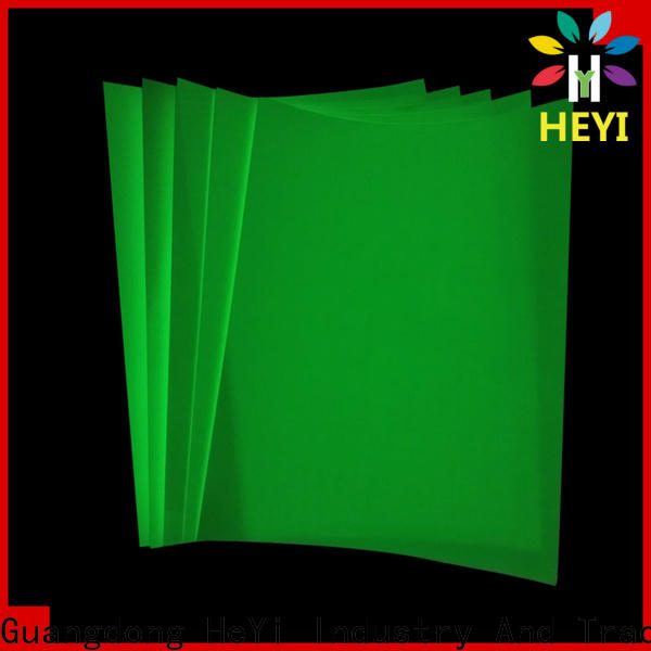 HEYI printable sticker paper for bags