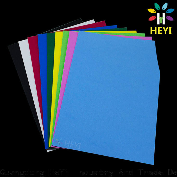 HEYI Professional adhesive die cut for banners