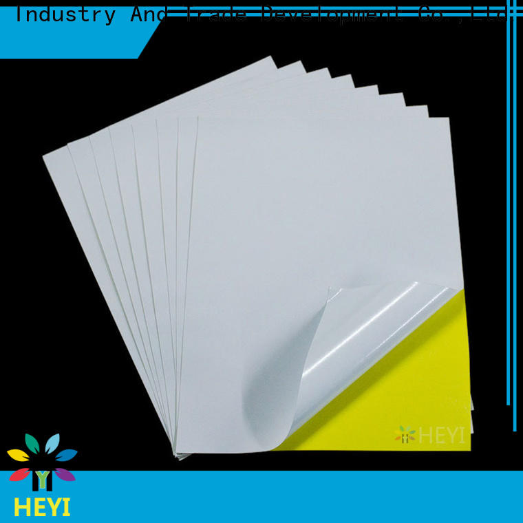 HEYI printable sticker paper suppliers for home decor