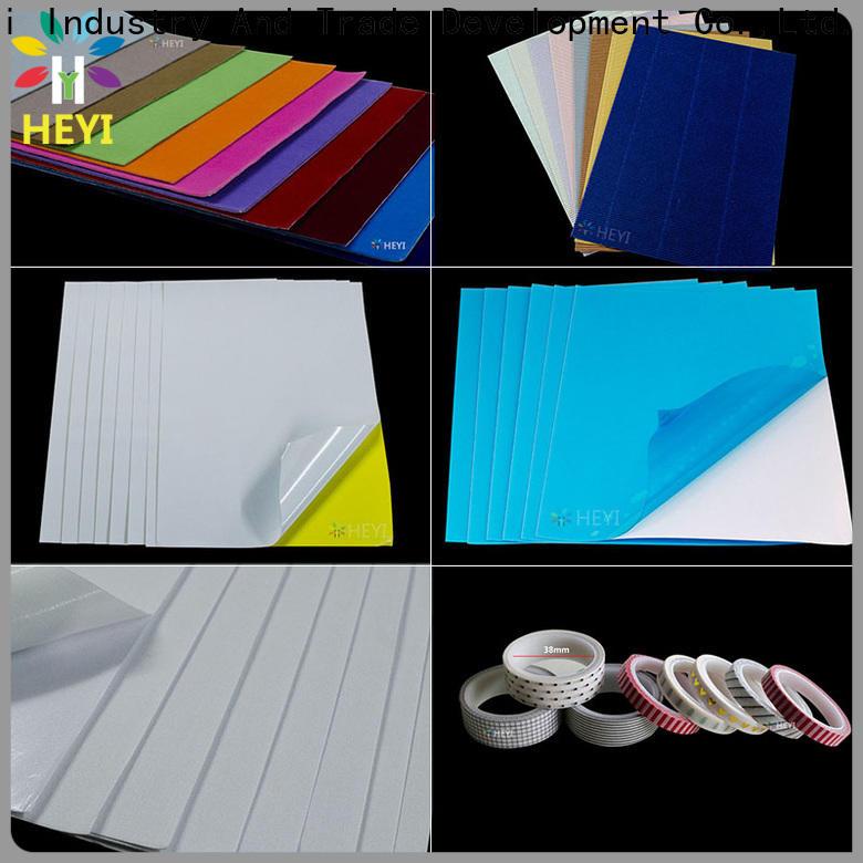 HEYI Custom self stick vinyl sheets factory price for home decor