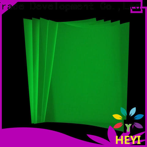 HEYI vinyl sticker paper factory for bags