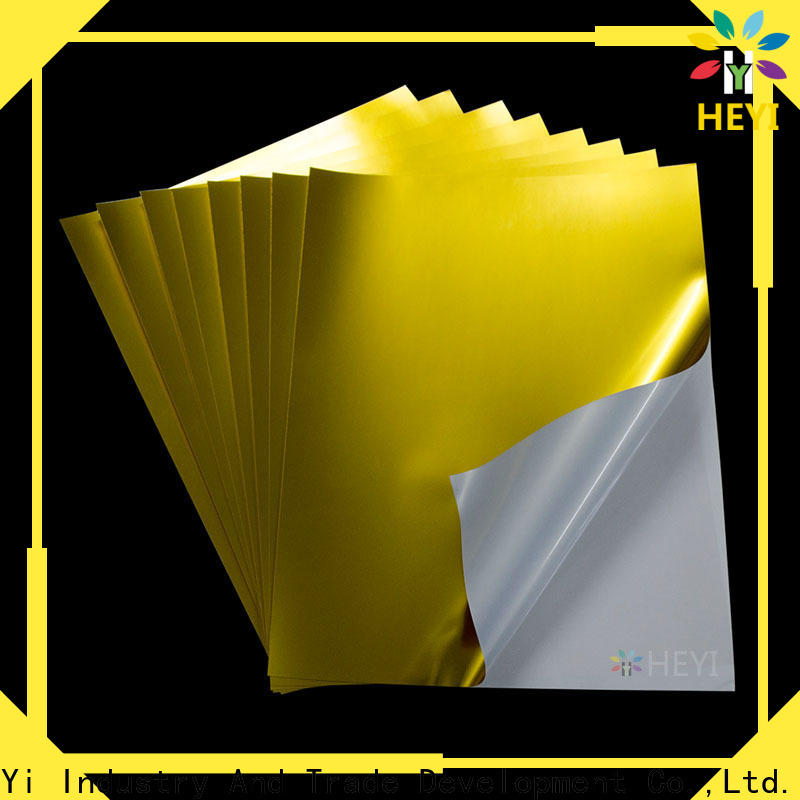 HEYI printable sticker paper manufacturers for wear