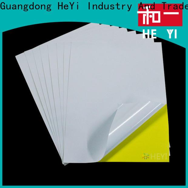 HEYI Custom printable adhesive vinyl company for bags