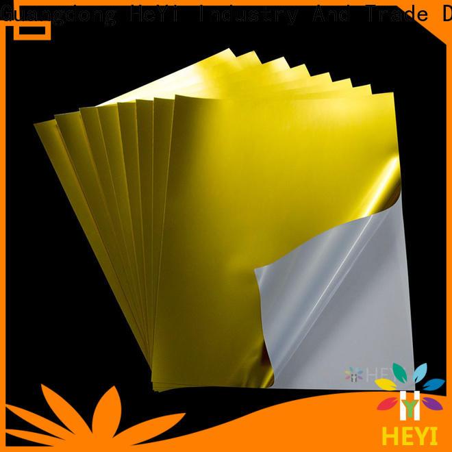 HEYI printable adhesive vinyl manufacturers for wear