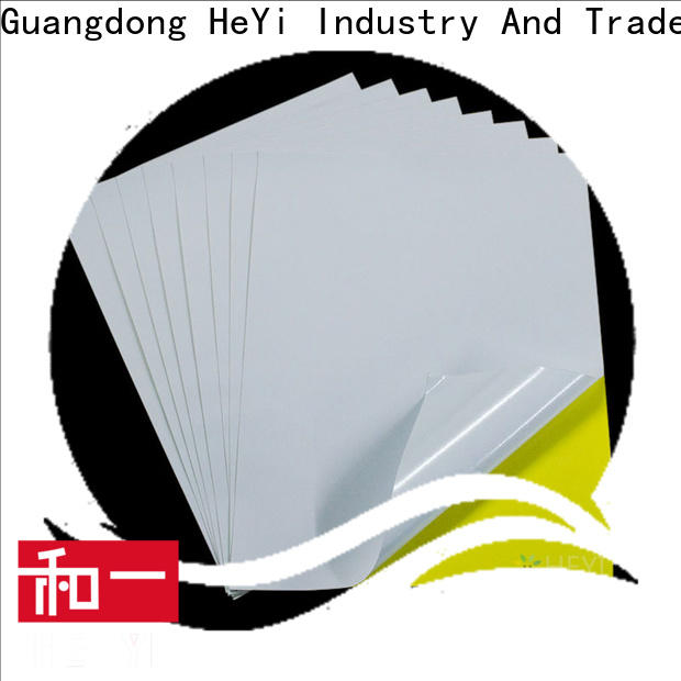 HEYI vinyl sticker paper manufacturers for bags