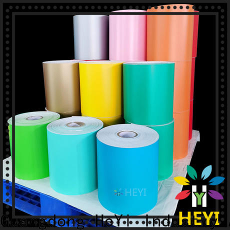HEYI Custom made adhesive vinyl rolls manufacturers for card-making