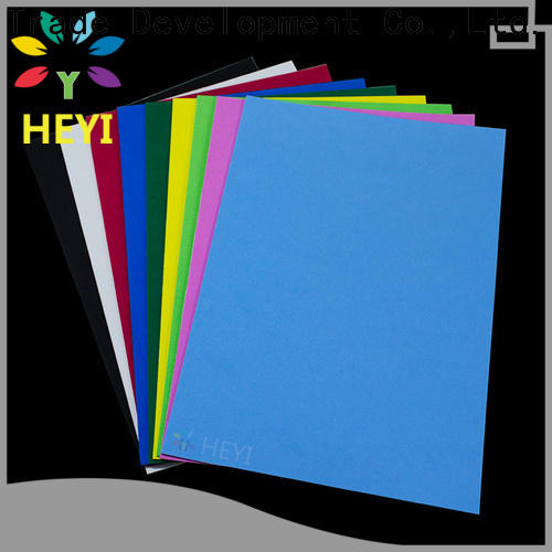 HEYI vinyl sheets manufacturers for bags