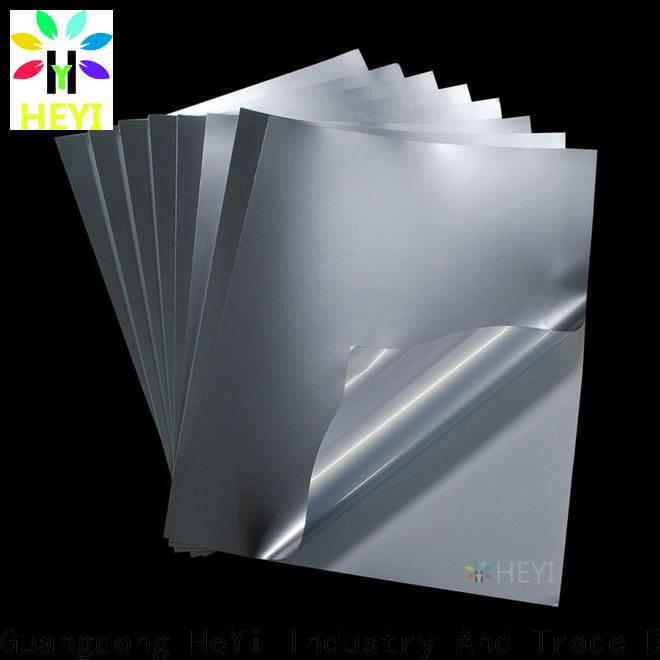 HEYI printable vinyl sticker sheets supply for wear