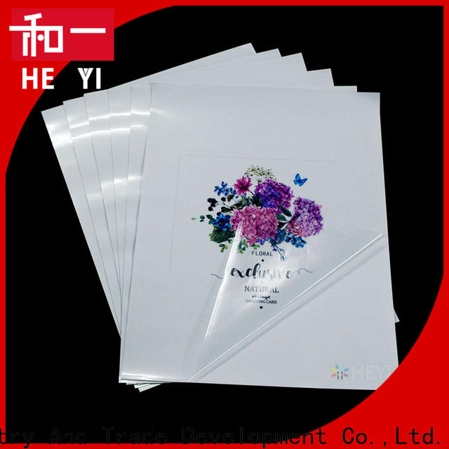High-quality printable vinyl sticker paper manufacturers for bags