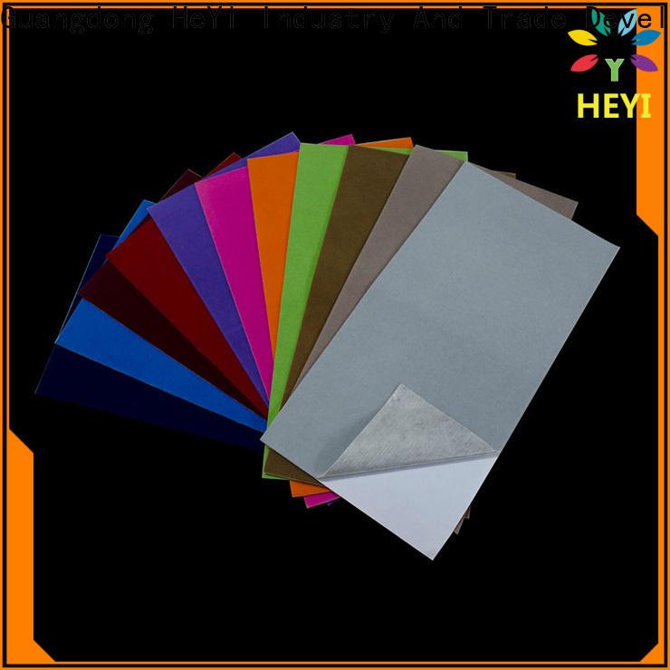HEYI Custom made vinyl sticker sheets supply for lettering