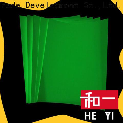 HEYI vinyl sticker paper for bags