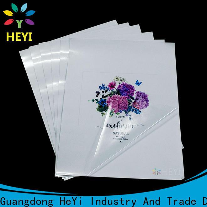 HEYI New printable vinyl factory for home decor
