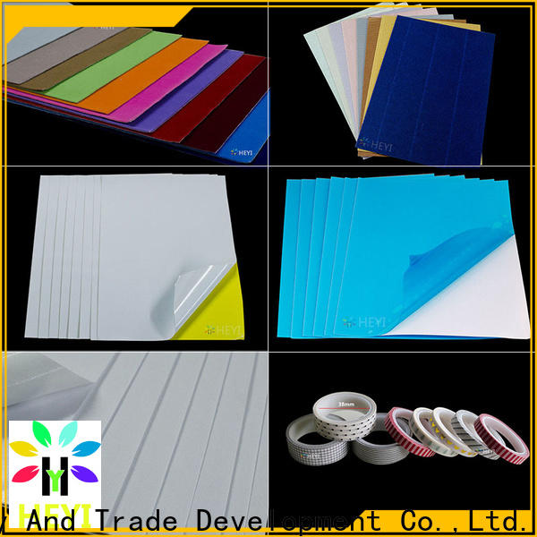 HEYI Custom self adhesive vinyl sheets price for lettering