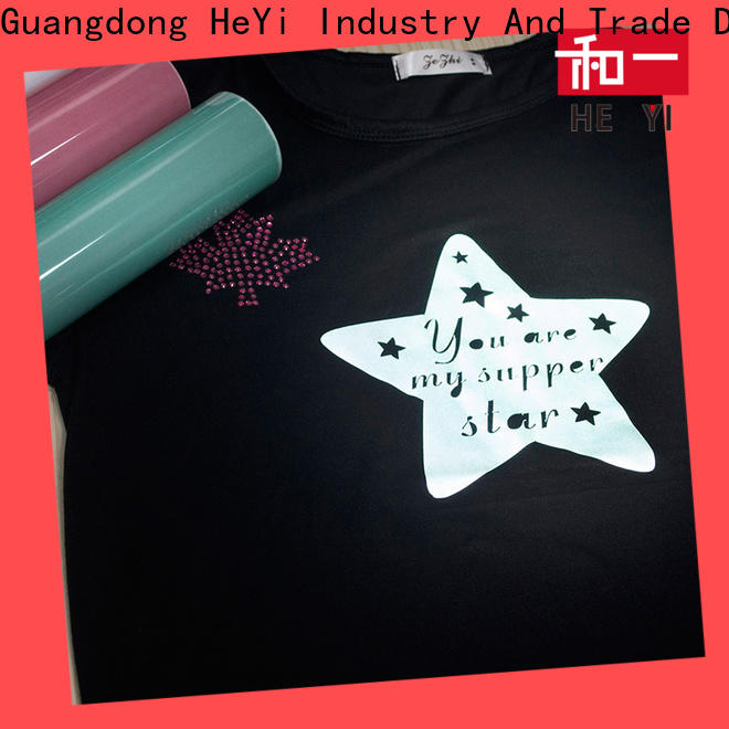 HEYI New heat transfer vinyl sheets wholesale manufacturers for bags