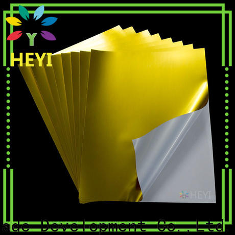 High-quality adhesive sticker supply for bags