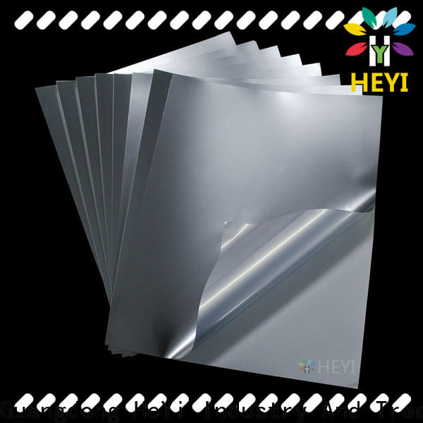 Professional printable adhesive vinyl manufacturers for bags