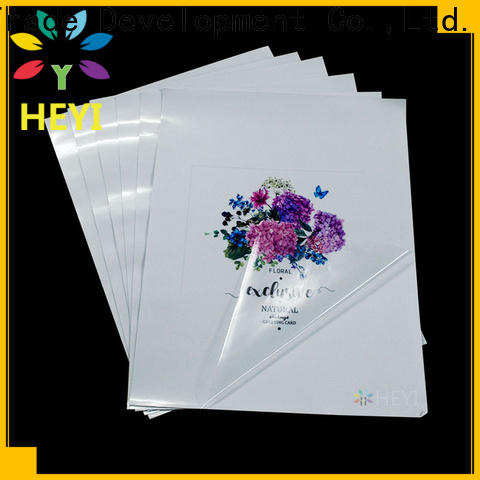 HEYI printable adhesive vinyl sheets wholesale for wear