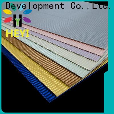 HEYI buy self adhesive vinyl sheets price for bags