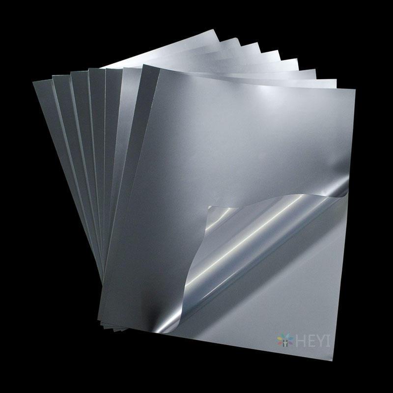 Printable Silver Sticker Sheets