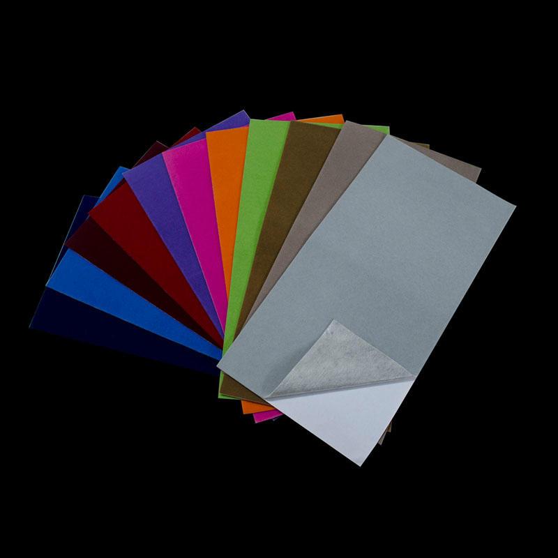 Self Adhesive Flock Paper